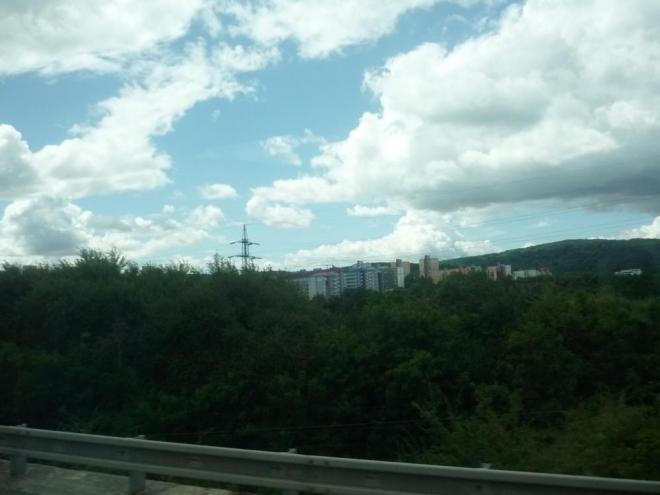 Bratislava - část Lamač (foceno z autobusu)
