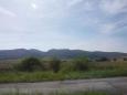 Cestou... jiné kopečky než u nás :)