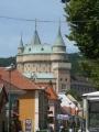 Pohled na zámek z městečka
