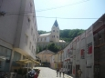 Farský kostel Narození Panny Marie a schody