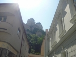 Pohled z náměstí na hrad