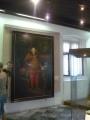 Obraz Josefa II. - kamkoli se pohnete, vždy se na Vás bude dívat a střevíc na Vás ukazovat :D