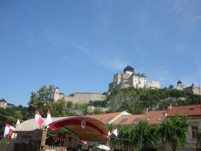 Trenčiansky hrad celé své kráse
