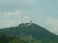 Hrad Hněvín, na kterém byl vězněn Edward Kelley