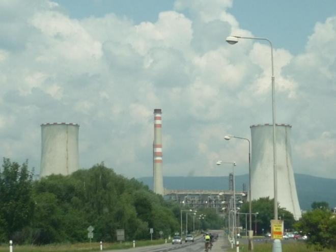 Chladící věže litvínovské chemičky