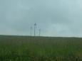 Větrné elektrárny na vrších
