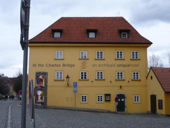 Cestou ke Karlovu mostu