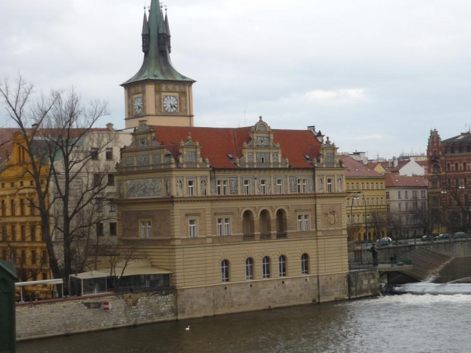 Pohled z Karlova mostu