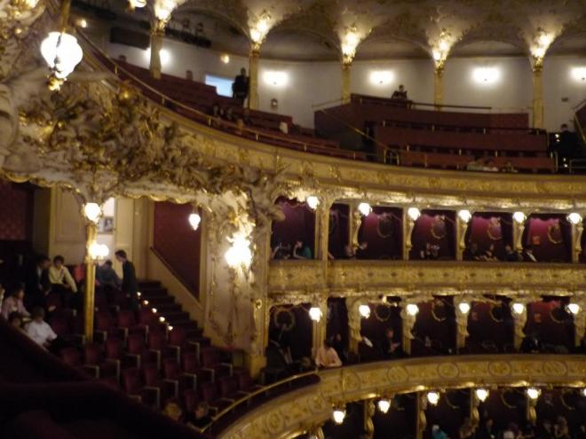 Uvnitř Státní opery