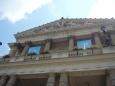 Pohled zvenku na budovu Státní opery