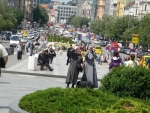 Pohled na Václavské náměstí