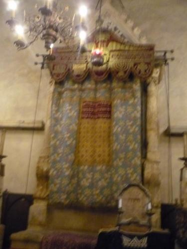 Oltář ve Staronové synagoze