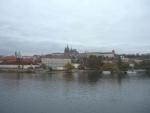 Komplex Pražského hradu s Vltavou