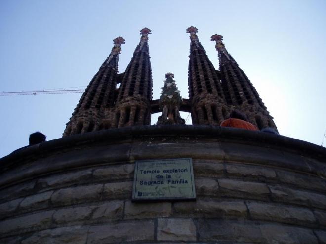 My jsme se spokojili s obhlídkou chrámu pouze zvenčí.