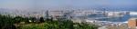 Kopec Montjuic, na který jsme se vyvezli po projížďce Barcelonským historickým centrem, se tyčí nad městem ve výšce 173 metrů na západ od centra a La Rambly, a nabízí nejen fantastické vyhlídky na panoráma města, gigantický přístav a na volné moře.