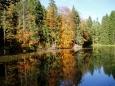Odbočíte-li však na červenou, dostanete se k jednomu z rybníků Píseckých hor - Novému. Další krásný rybník Němec leží více na jihovýchod, ale to už je spíš na cyklotútu.