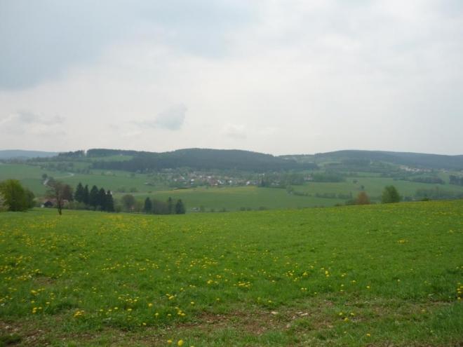 Výhled na Rohanov a okolí