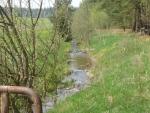 Mladíkovský potok u chalup