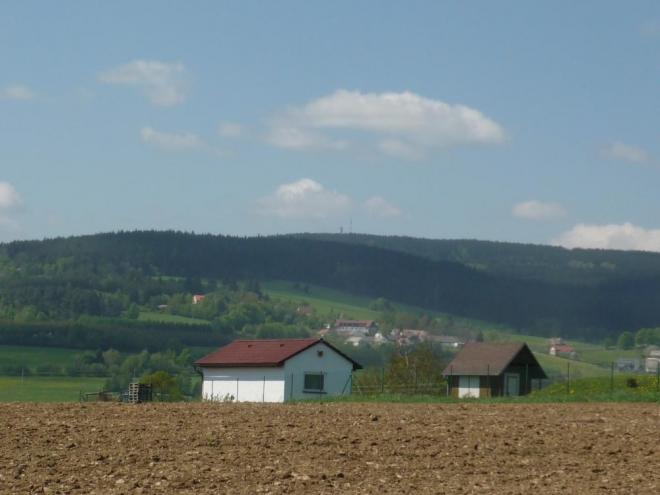 Rozhledna Javorník na kopci