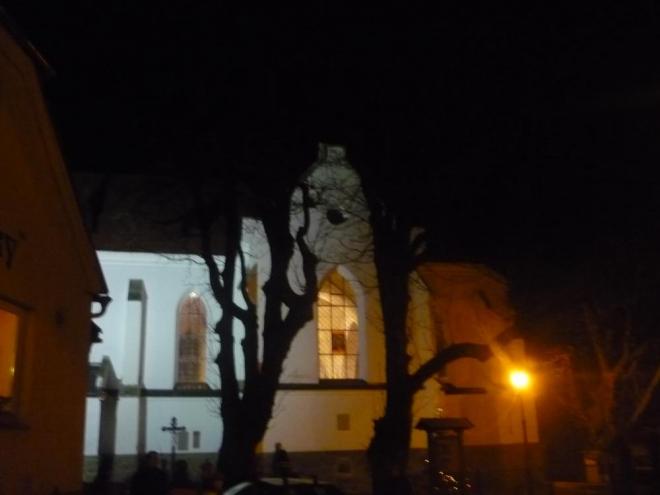 Noční kostel