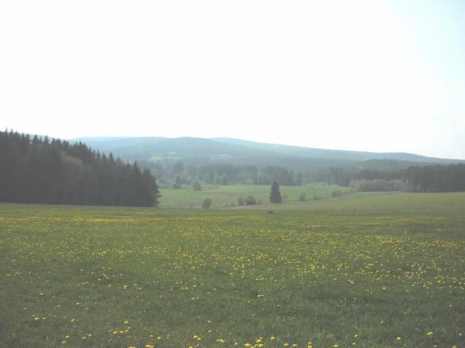 Kraj směrem k Javorníku